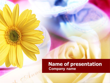 Holiday/Special Occasion: Love Letter PowerPoint Template #00715