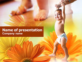 Education & Training: First Steps PowerPoint Template #00716