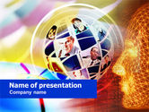 Business: Business Style Of Thinking PowerPoint Template #00719