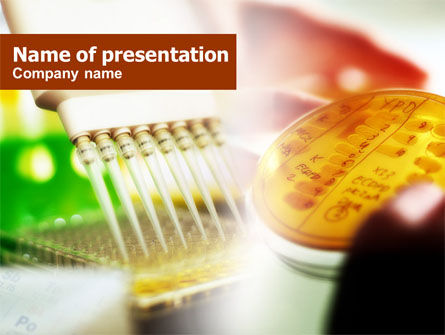 Circuit Board Production PowerPoint Template, 00720, Technology and Science — PoweredTemplate.com