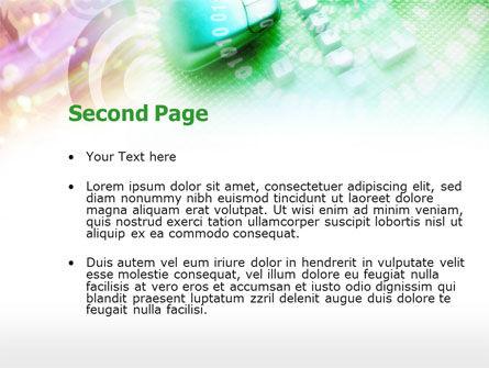 Internet Access Providing PowerPoint Template, Slide 2, 00721, Telecommunication — PoweredTemplate.com