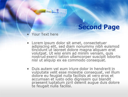 Cable Connection PowerPoint Template, Slide 2, 00722, Telecommunication — PoweredTemplate.com