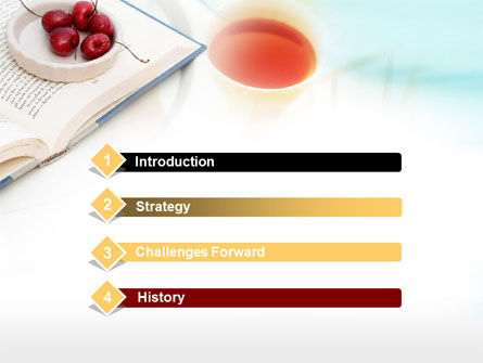 Cup Of Tea PowerPoint Template Slide 3