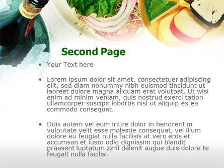 Banquet PowerPoint Template, Slide 2, 00725, Food & Beverage — PoweredTemplate.com