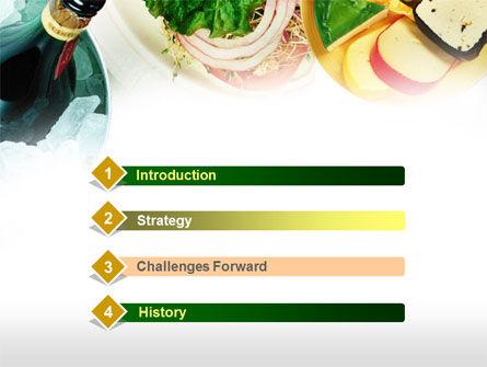 Banquet PowerPoint Template, Slide 3, 00725, Food & Beverage — PoweredTemplate.com