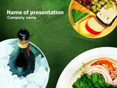 Food & Beverage: Banket PowerPoint Template #00725
