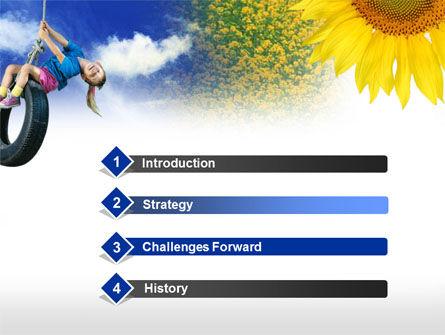 Tire Swing PowerPoint Template Slide 3