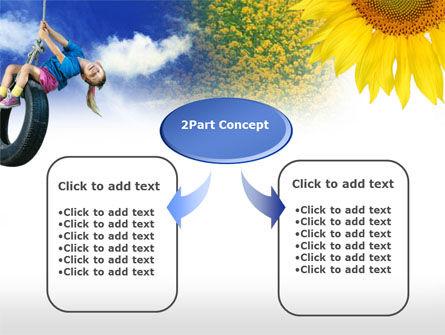 Tire Swing PowerPoint Template Slide 4
