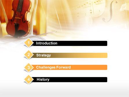 Fiddle PowerPoint Template, Slide 3, 00732, Art & Entertainment — PoweredTemplate.com