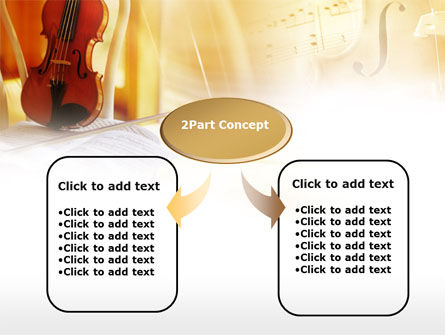 Fiddle PowerPoint Template, Slide 4, 00732, Art & Entertainment — PoweredTemplate.com