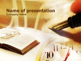 Legal: Business Vintage Style PowerPoint Template #00734