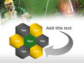 American Football Player PowerPoint Template#11