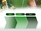 American Football Player PowerPoint Template#16