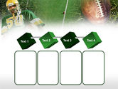 American Football Player PowerPoint Template#18