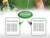 American Football Player PowerPoint Template#4