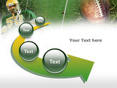 American Football Player PowerPoint Template#6