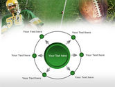 American Football Player PowerPoint Template#7