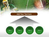 American Football Player PowerPoint Template#8