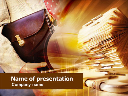 Business Consulting Service PowerPoint Template, 00739, Consulting — PoweredTemplate.com
