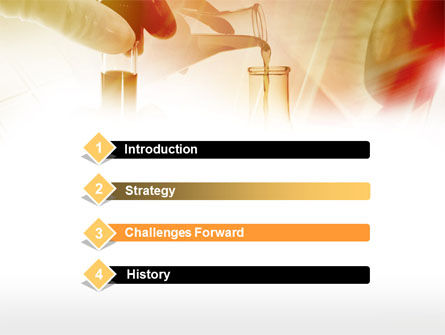 Chemical Testing PowerPoint Template, Slide 3, 00740, Technology and Science — PoweredTemplate.com