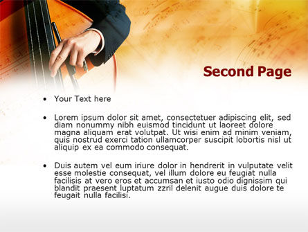 Double Bass PowerPoint Template Slide 2