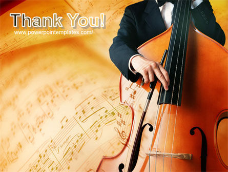 Double Bass PowerPoint Template Slide 20