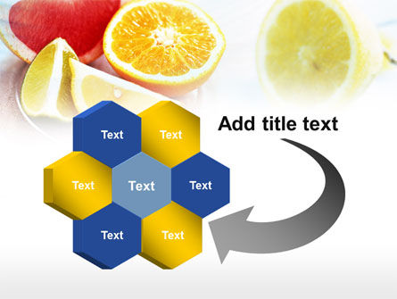 Citrus Segments PowerPoint Template Slide 11