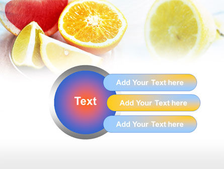Citrus Segments PowerPoint Template Slide 12