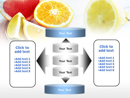 Citrus Segments PowerPoint Template Slide 13