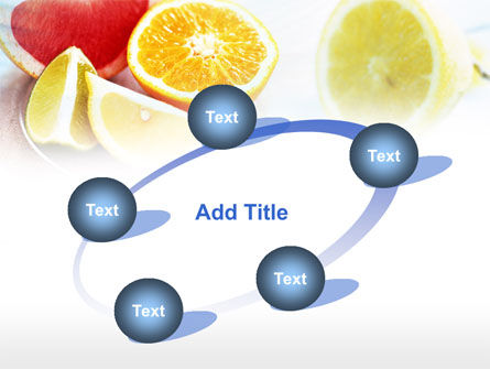 Citrus Segments PowerPoint Template Slide 14
