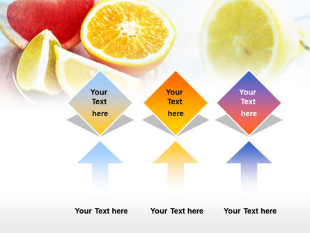 Citrus Segments PowerPoint Template Slide 5
