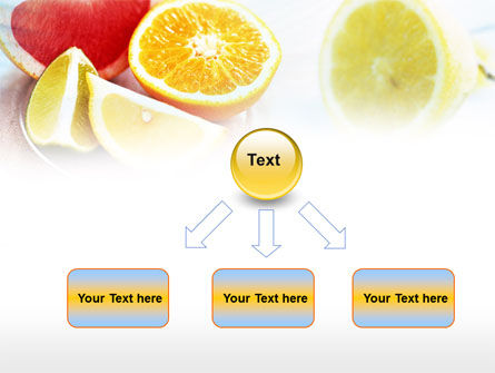Citrus Segments PowerPoint Template Slide 8