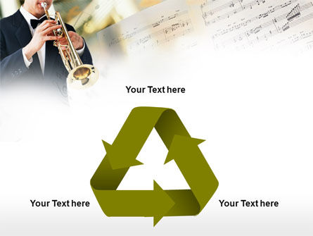 Trumpet In A Symphony Orchestra PowerPoint Template Slide 10