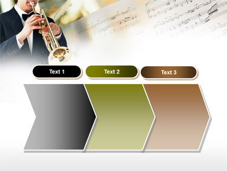 Trumpet In A Symphony Orchestra PowerPoint Template Slide 16