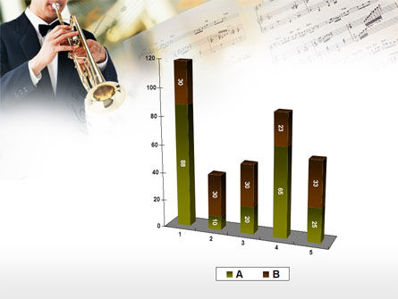 Trumpet In A Symphony Orchestra PowerPoint Template Slide 17