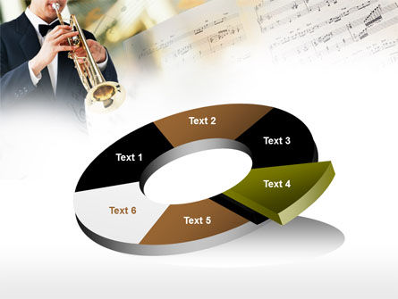 Trumpet In A Symphony Orchestra PowerPoint Template Slide 19