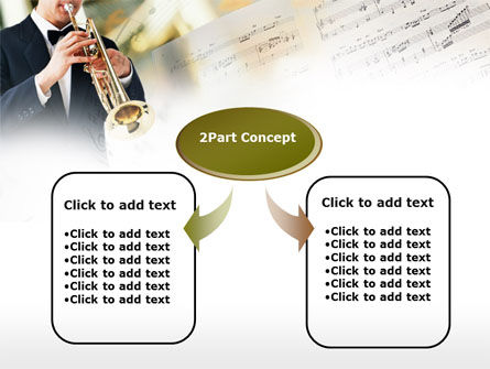 Trumpet In A Symphony Orchestra PowerPoint Template Slide 4