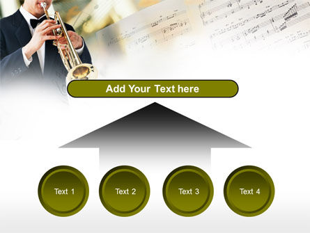 Trumpet In A Symphony Orchestra PowerPoint Template Slide 8