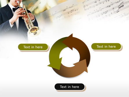 Trumpet In A Symphony Orchestra PowerPoint Template Slide 9