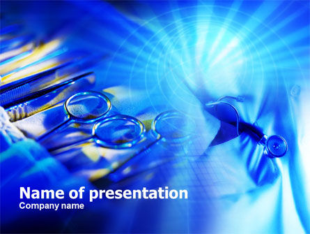 Surgical Instruments PowerPoint Template