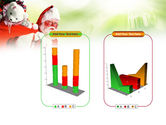 Santa Claus and Presents Bag PowerPoint Template#13