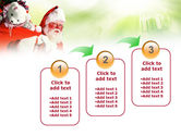 Santa Claus and Presents Bag PowerPoint Template#14