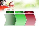 Santa Claus and Presents Bag PowerPoint Template#16