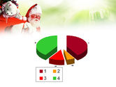 Santa Claus and Presents Bag PowerPoint Template#17