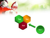 Santa Claus and Presents Bag PowerPoint Template#19