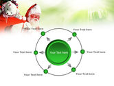 Santa Claus and Presents Bag PowerPoint Template#7