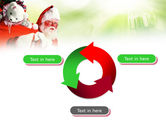 Santa Claus and Presents Bag PowerPoint Template#9