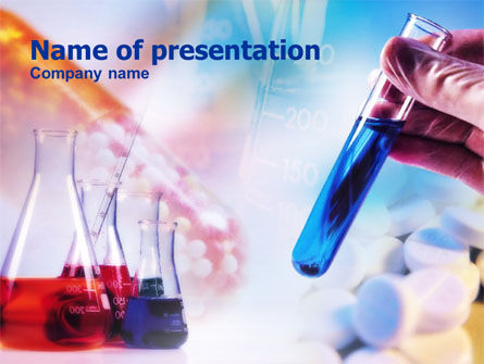 Medical: Medical Testing PowerPoint Template #00749