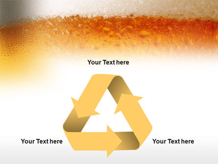 Beer Tumbler PowerPoint Template Slide 10