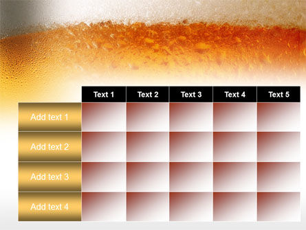 Beer Tumbler PowerPoint Template Slide 15